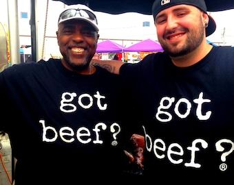 Got Beef?® T-Shirt  Got Beef Tshirt Muscle Bodybuilding