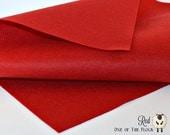 Red Wool Felt, Wool Blend Felt, Wool Felt Sheets, Wool Felt Fabric, Red Felt Fabric, Red Felt Sheets, Craft Felt Sheets, Red Craft Felt