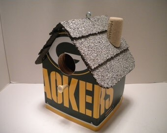 Green Bay Packers License Plate Birdhouse