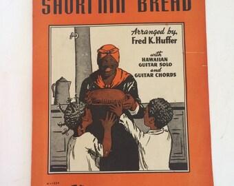 Short'nin' Bread Sheet Music 1939 Arranged by Fred K. Huffner Hawaiian Guitar Solo