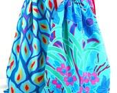 Fabric Shoe Bags 2-Travel Bag-Gym Bag-Fabric Gift Bag-Laundry Bag-Floral