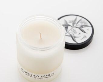 Spa Set - Bourbon & Vanilla Candle and Soap Gift Set