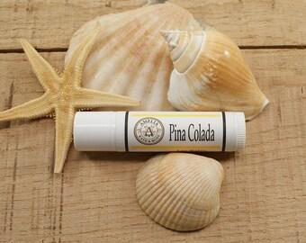 Pina Colada Lip Balm   Tropical Fruit, Vegan Lip Balm, Beach Wedding Favors, Bachelorette Party Favor, An Island Treat