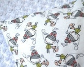 Custom Listing for Allyson ... Large Low Profile Pillow with Little Girl Balloon Flannel Case