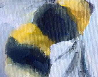 Original painting of bee