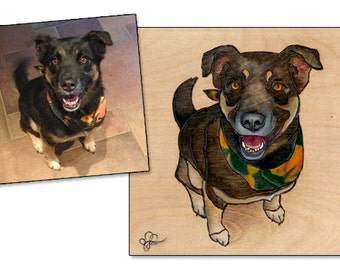 Custom Pet Portrait by Leanne Wildermuth