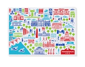 District of Columbia Tea Towel/Dish Towel