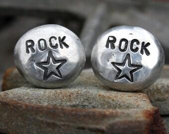 Cufflinks - Cuff Links - Rock Star