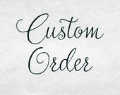 CUSTOM order for Sue - Weathered No. 2