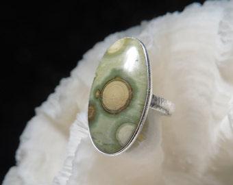 Ocean Jasper Ring Size 8.25