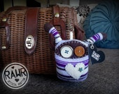 RAWR Traveling eeP – Keychain Sock Creature