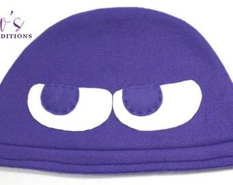 Puyo Puyo - Purple Hat / Fleece Hat / Winter Hat / Puyo Hat / Video Game Characters