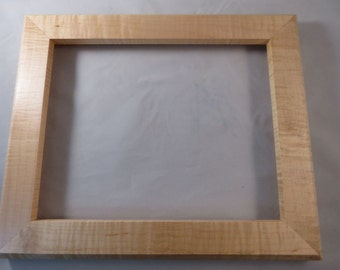 8x10 Curly Maple Picture Frame 5D