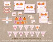 Pumpkin Baby Shower Party...
