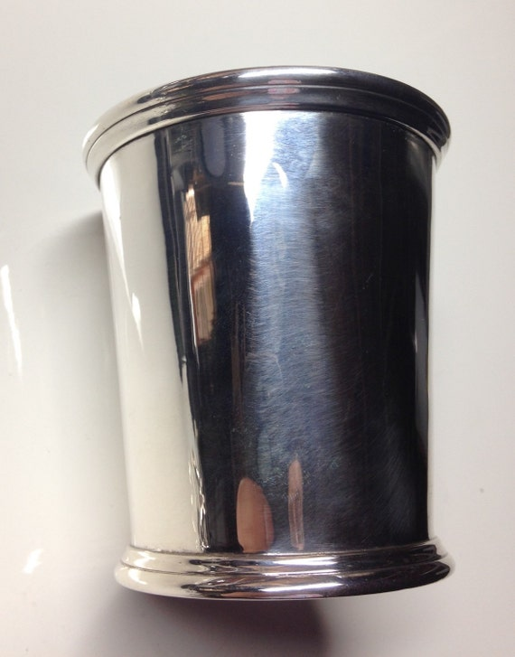 1850 Peter L. Krider and William Kendrick Kentucky Mint Julep Cup in Sterling Silver