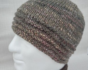 KNITTING PATTERN/CHARLEYMans Slouch Beanie Easy/ Knit