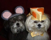 RESERVED - Custom - FIRE and SMOKE hats - pet Halloween Costumes