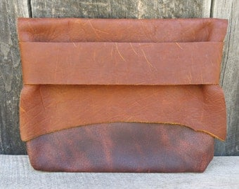 Natural Rustic Light Traveler Eco Leather Tote