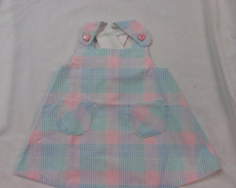 infant girls sundress and bloomers CLEARANCE