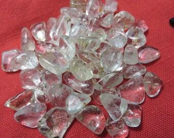 2 Clear Topaz Healing Stones White Topaz silver Topaz Healing Crystal Healing Stone Chakra Reiki Energy Body Mind and Spirt