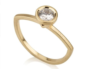 Emilie Ring, Diamond Engagement Ring