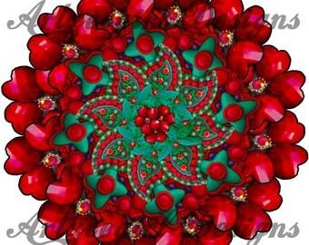 Pretty Petals, Mandala