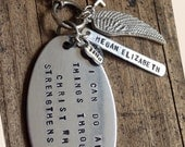 Custom Spiritual Keychain or Necklace