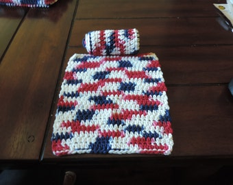 Set of 2 Cotton Dishcloths