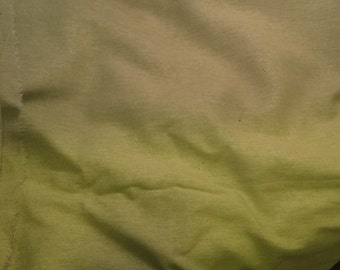 100% LINEN Fabric - APPLE GREEN - 1 Yard