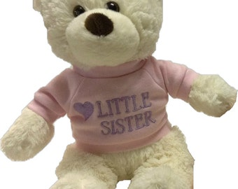 Personalized Brother/Sister Bears (sold seperatly, not as a pair)