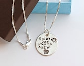 RESERVED for ANN 18 inch length sterling silver chain