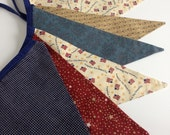 Patriotic American Americana Stars and Stripes July 4th Memorial Day Labor Day Banner Flags Bunting
