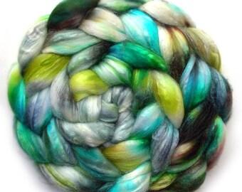 Silk Roving 50/50 Silk and Merino Combed Top, Kappa, 4.2 oz.