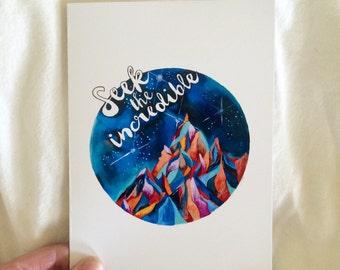 CARD - Seek the Incredible