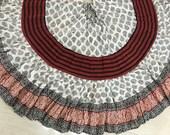 25 yd Block Print Veg Dye Skirt MF106