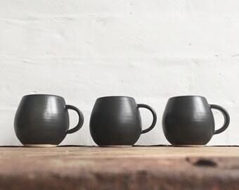 Metallic Black Coffee/Tea Mug