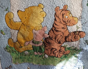 Baby Quilt Winnie the Pooh