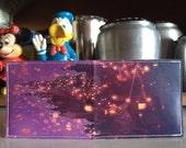 Tangled Disneyland Map Wallet