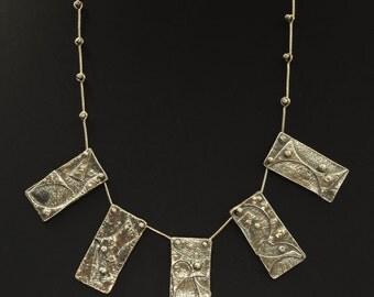 Necklace - Five Little Panels