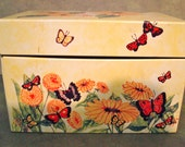 Butterfly recipe tin