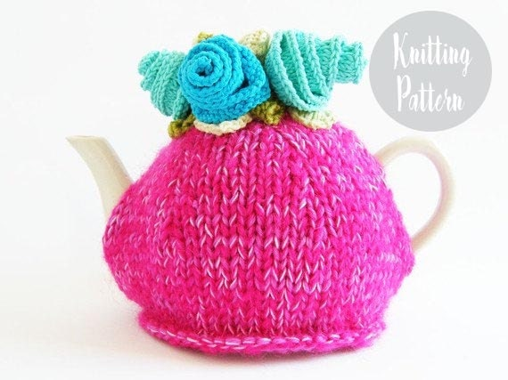 Knitting Patterns For Beginners Tea Cosy : Knitting patterns tea cozy patterns tea cozy by handylittleme