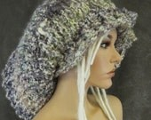 The SUPER Slouchy,Slouchy Hat, Dreadlock Hat, Accessories, Women,Hats,Hair Accessory,Handmade Hat, Hand knit Hat,Winter Hat,