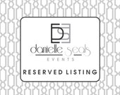 Reserved Listing for  amwill3