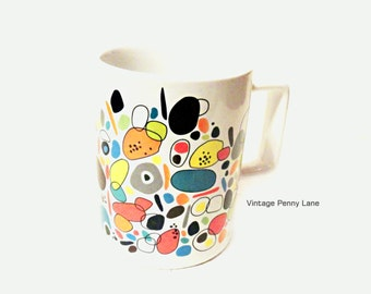 Ceramic Mug, Coffee Cup, Modern Abstract Retro Art