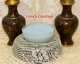 4 oz Soy Lotion Treasure Candles burn as a candle then apply to skin