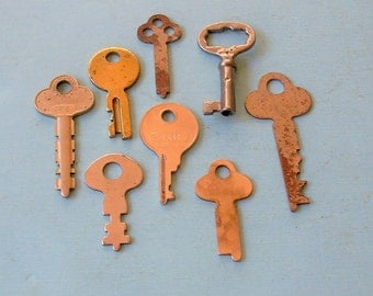 Antique Vintage Skeleton Key Keys Steampunk Jewelry Ornate Key DIY Jewelry Keys