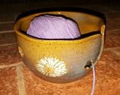 Yarn Bowl - Daisy - Flower - Design