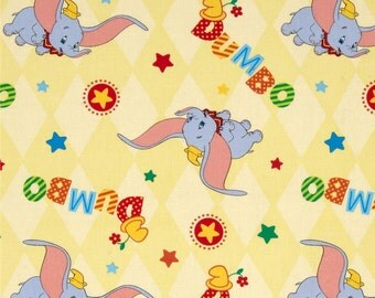 Disney Classic Dumbo Fabric By The Yard