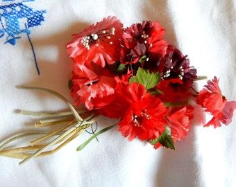 Vintage Flower Bouquet - Hat Milleinery - Flower Pin - Corsage