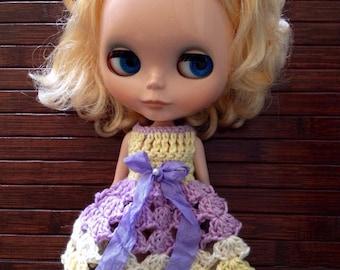 Neo Blythe Princess Crochet Dress - Easter
